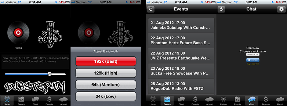 Download The Dubstep.fm iOS App Today